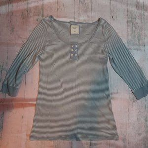 Old Navy | 3/4 Sleeves T-Shirt, Wide Neckline